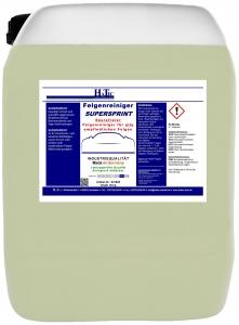 Felgenreiniger Supersprint säurefrei  30 kg