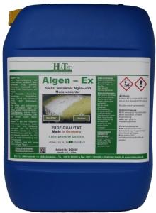 Algen-Ex 10-kg Konzentrat, zur dauerhaften Algen- und Moosbekämpfung über Monate