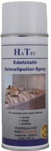 Edelstahl Schnellpolier Spray 400 ml VE 12 Stück
