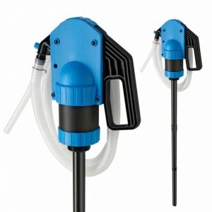 Handpumpe für Säuren, leichte Laugen, Chemikalien | JP-09 Blau-Schwarz